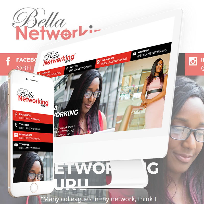 Bella Networking Guru Website