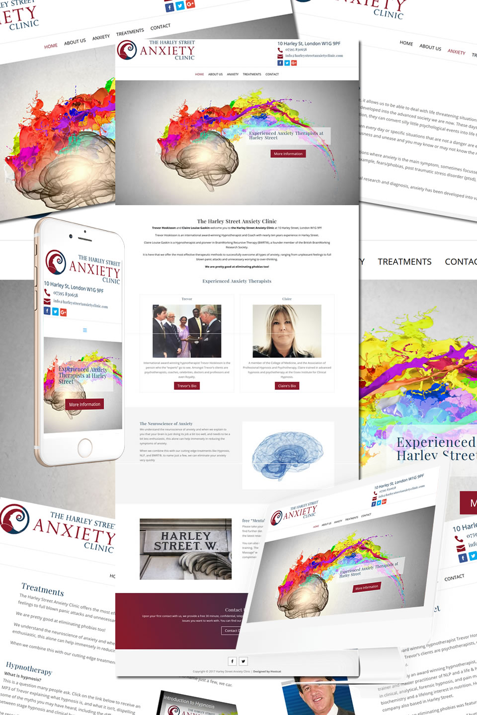 Harley Street Anxiety Clinic Website
