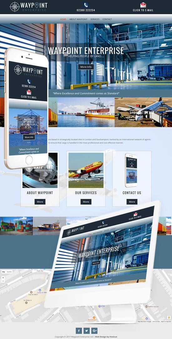 Waypoint Enterprise  Website
