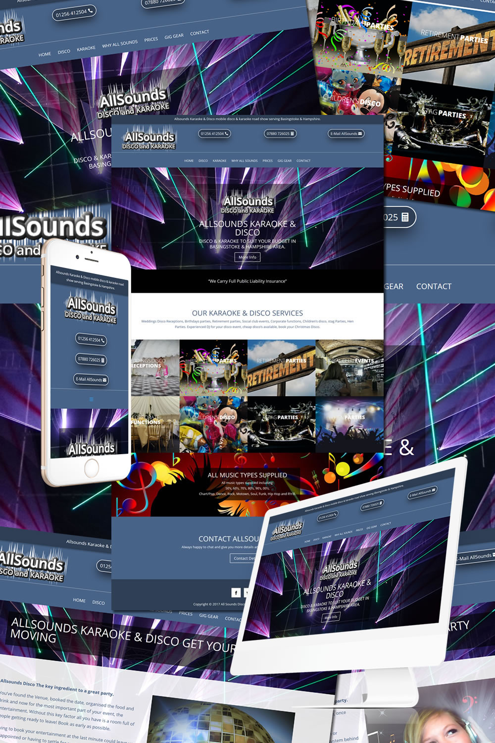 AllSounds Disco Website