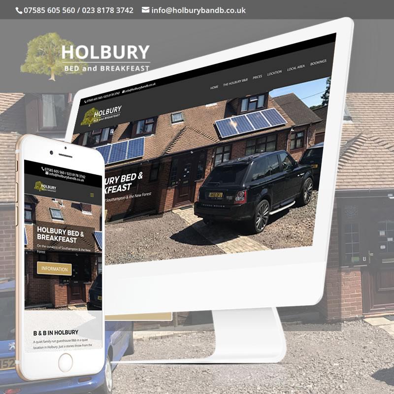 Holbury B & B Website