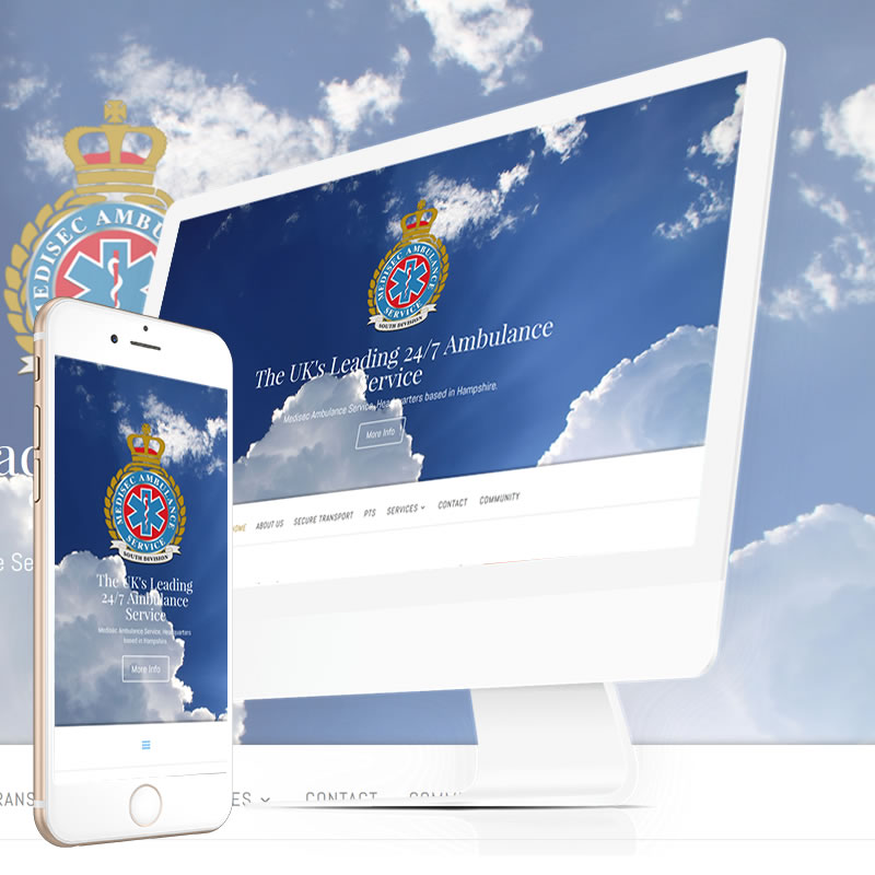 Medisec Ambulance Service Website