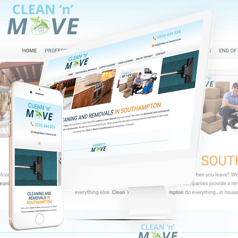 Clean n Move Website