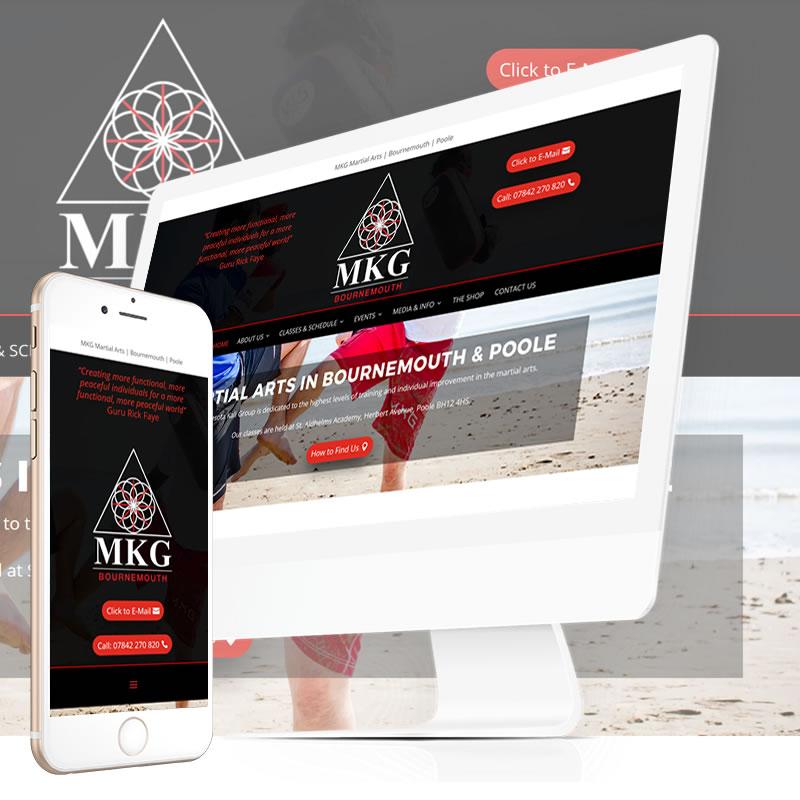 MKG Bournemouth Website