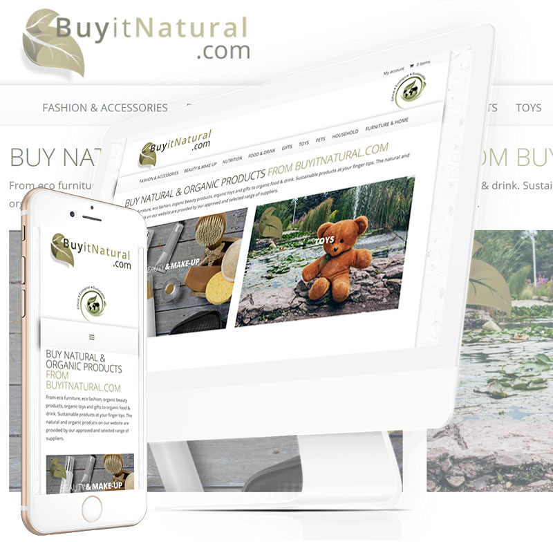Buy It Natural Website