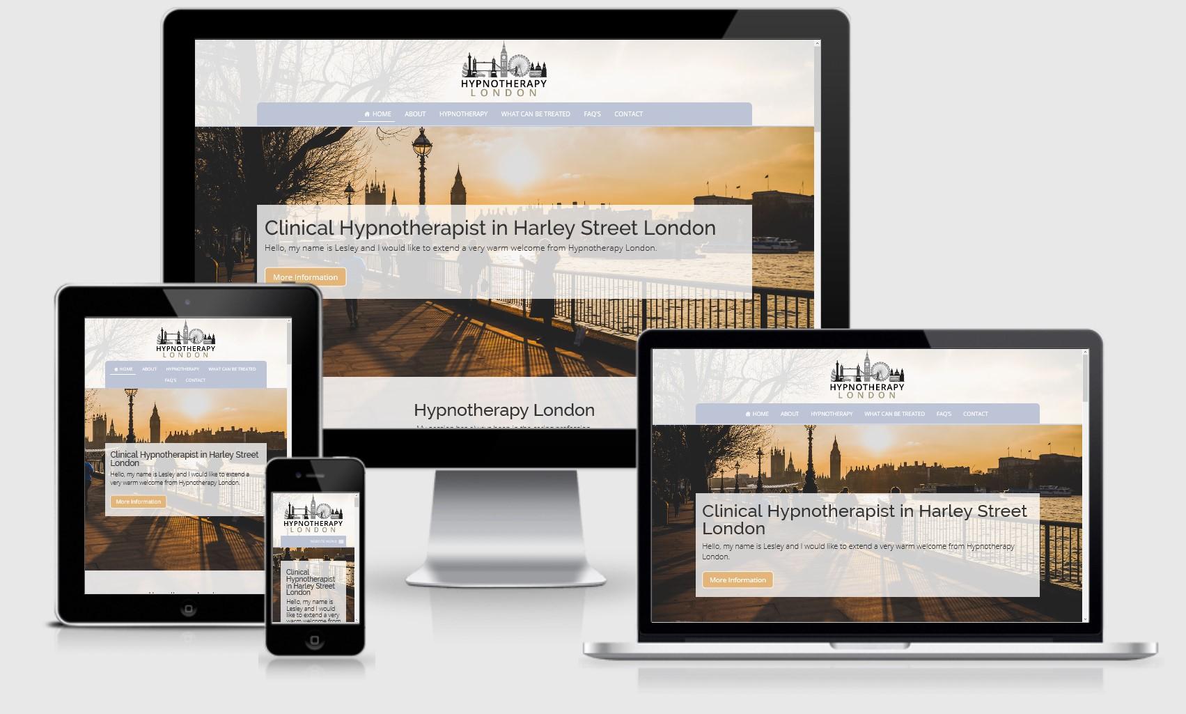 Hypnotherapy London Website