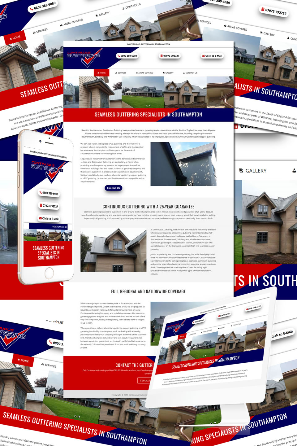Continuous Guttering Website