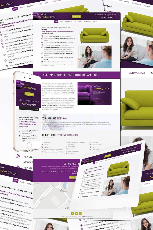 Fareham Counselling Centre Website