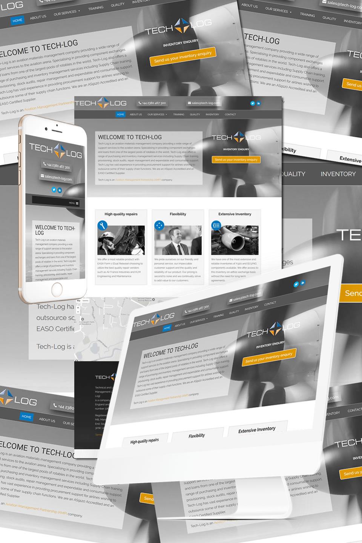 Tech-Log Southampton Website
