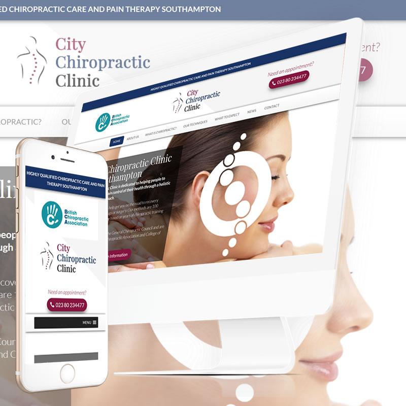 City Chiropractic Clinic  Website