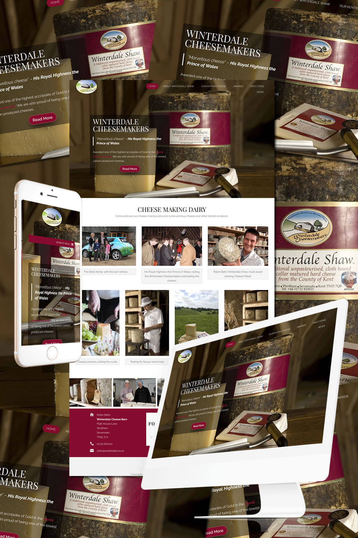 Winterdale Cheese in Kent Website