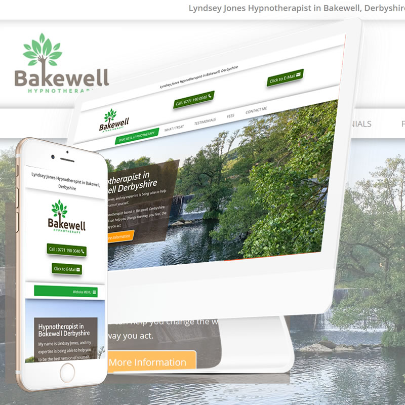 Bakewell Hypnotherapy Website