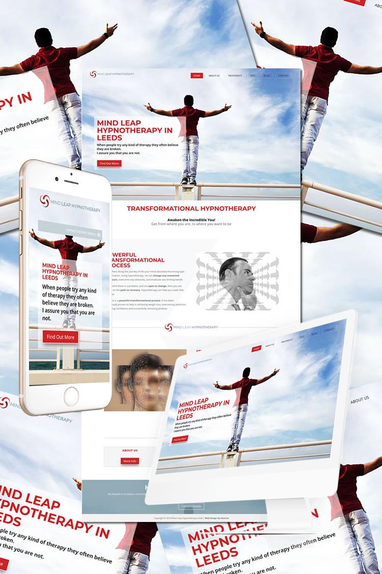 Mind Leap Hypnotherapy Leeds Website