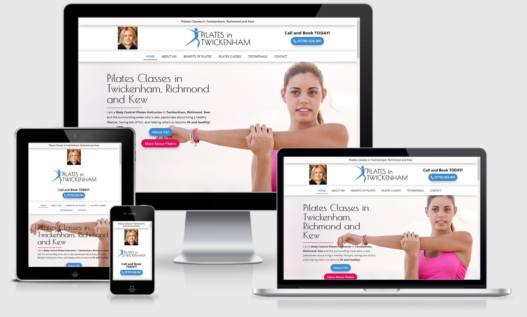 Pilates in Twickenham Website