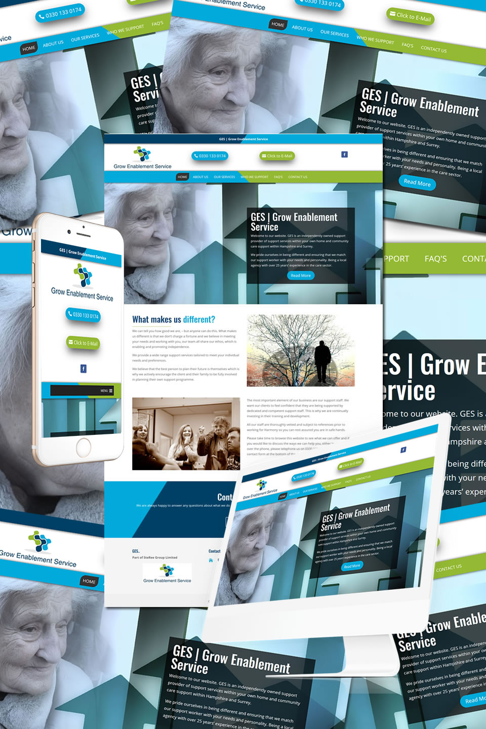 Grow Enablement Services Website