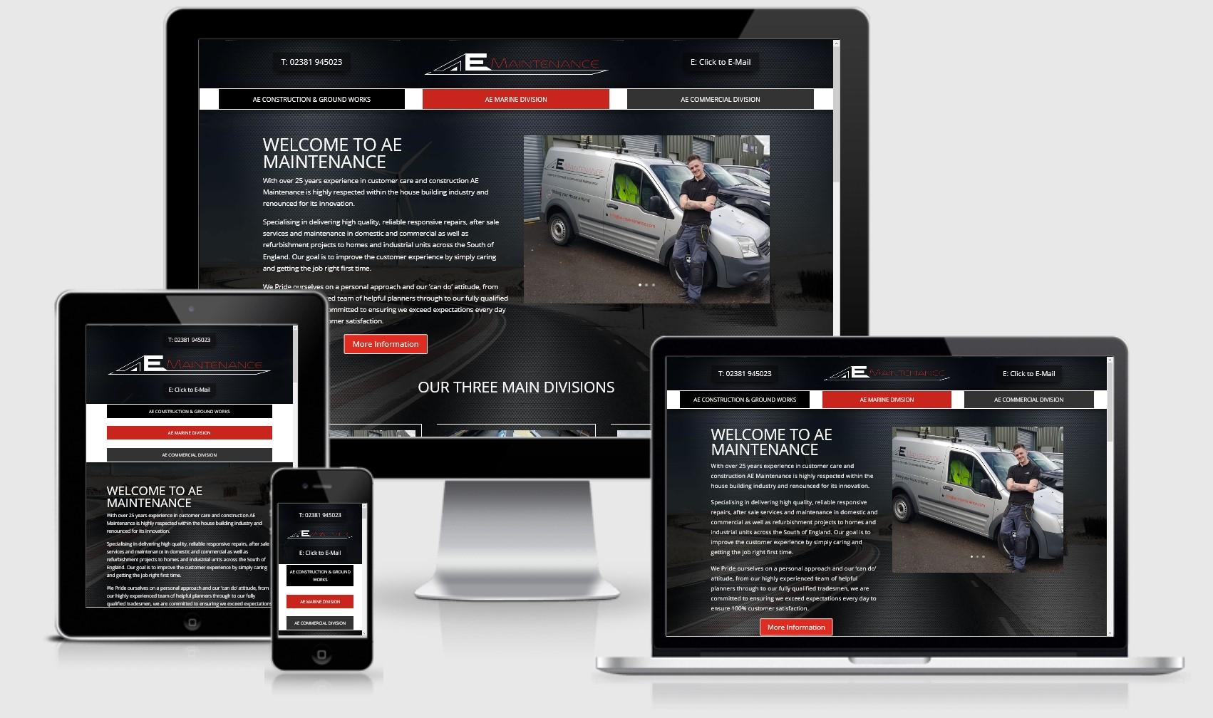 AE Maintenance Website