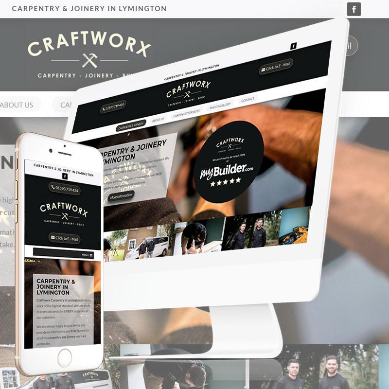 Craftworx Carpentry Website