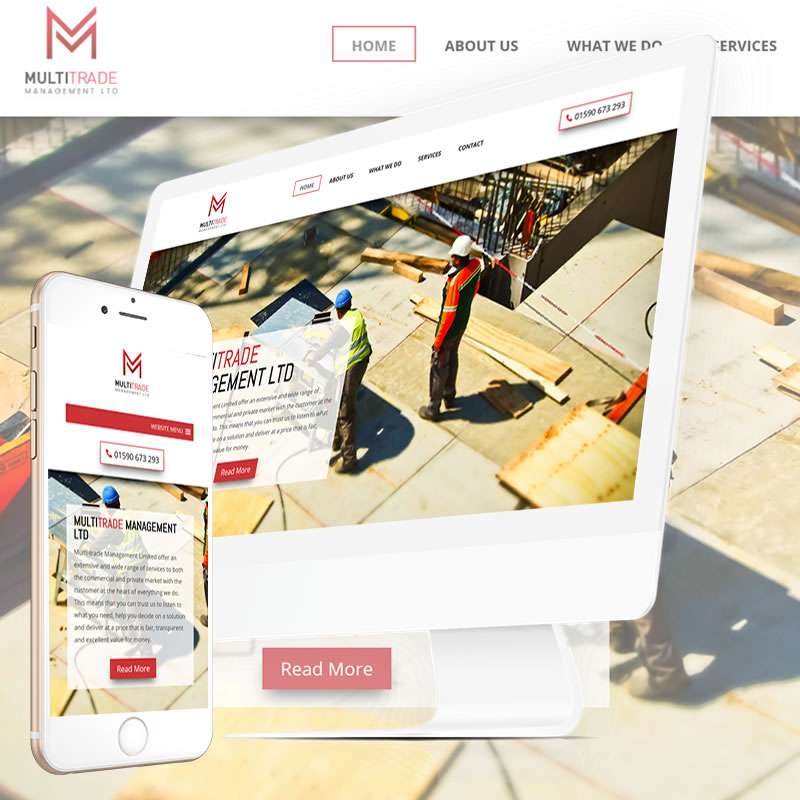 Web Designers for Builders and Building Companies