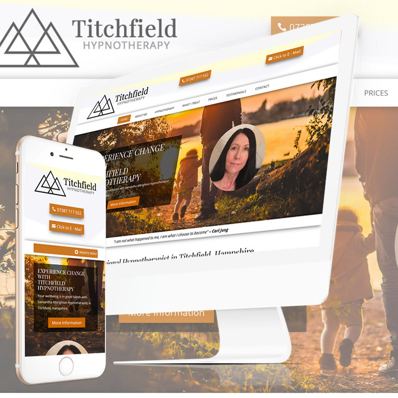 Titchfield Hypnotherapy Website