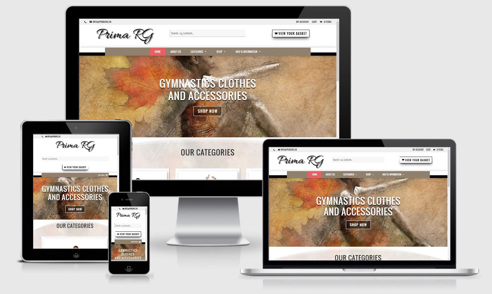 Prima RG Website
