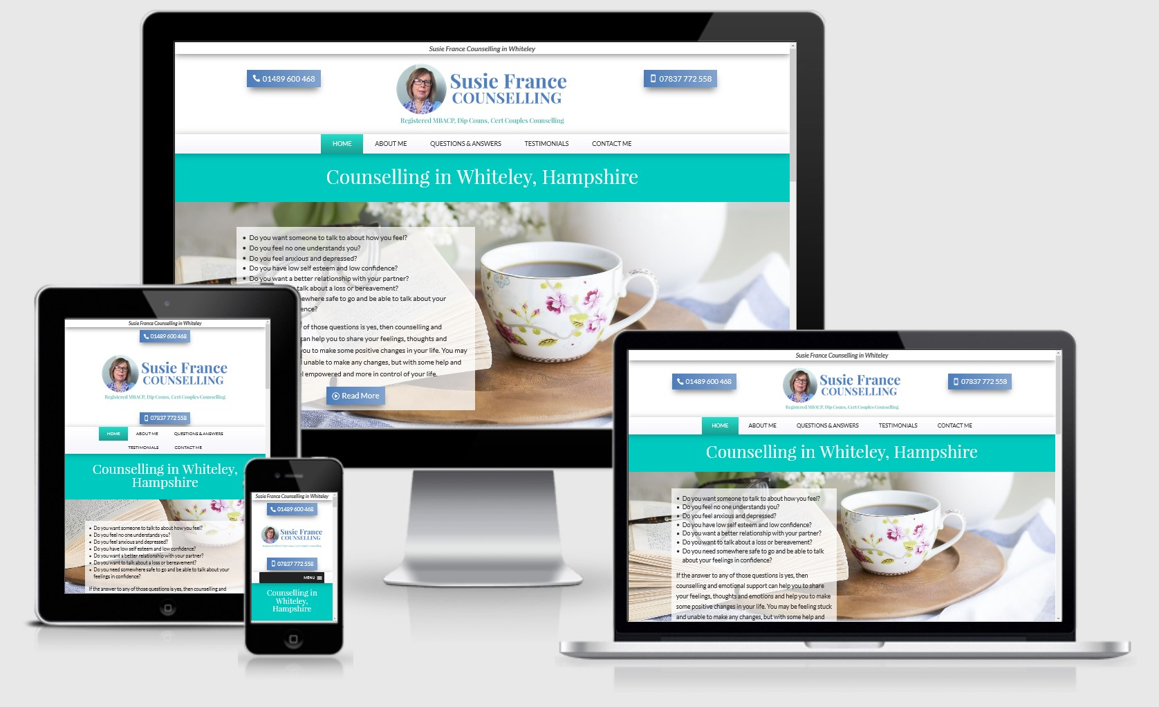 Susie France Counselling Website