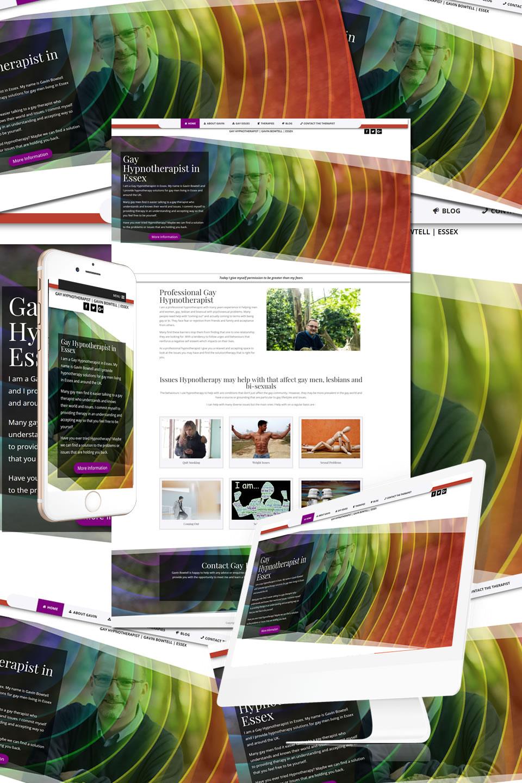 Gay Hypnotherapist Essex Website