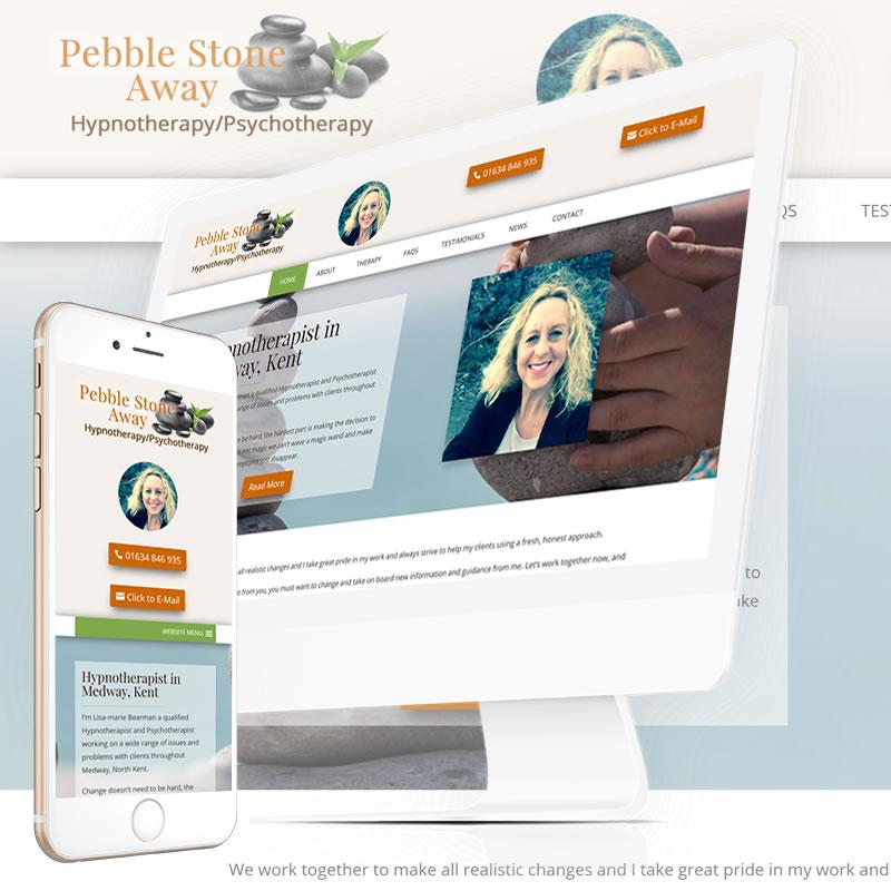 Pebble Stone Away Website