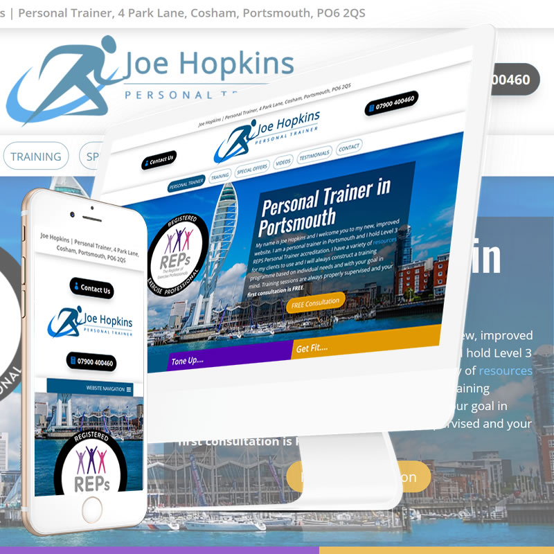 Professional Web Design for Personal Trainers