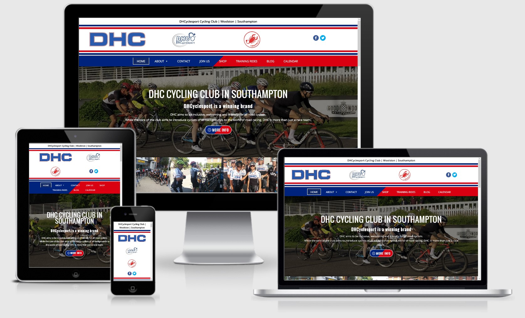 DH CycleSport in Southampton Website