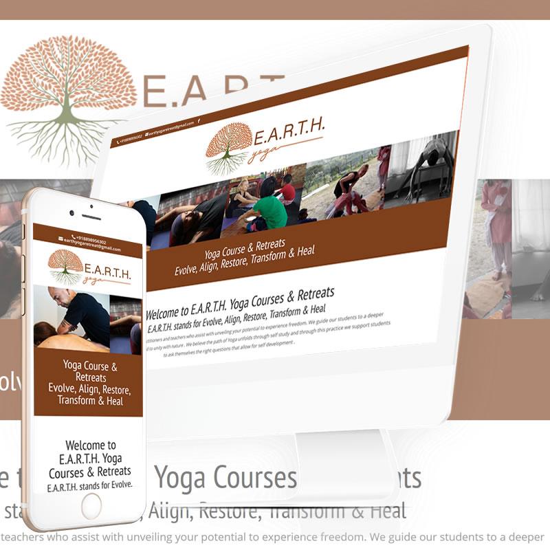 Earth Yoga Courses Website