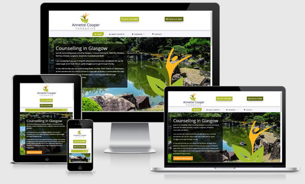 Annette Cooper Therapies Website