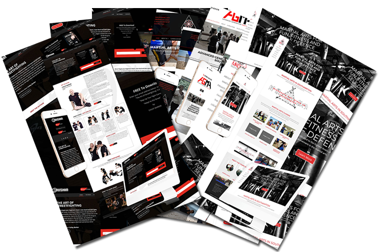 Martial Arts Web Design