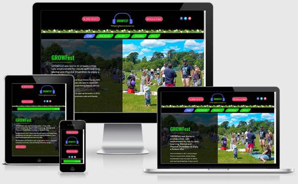 GrowFest Website