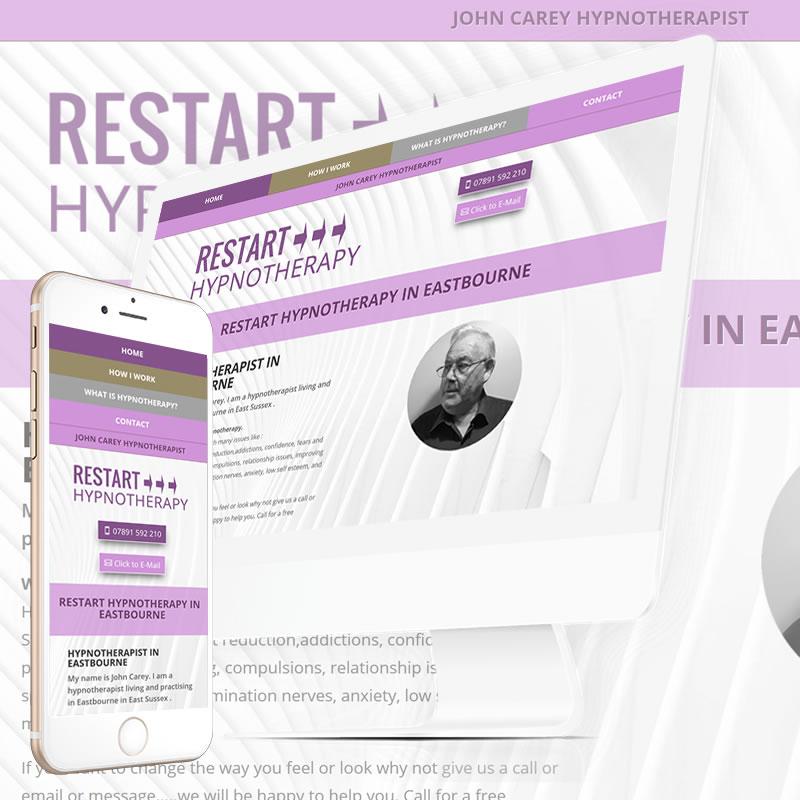 Restart Hypnotherapy Eastbourne Website