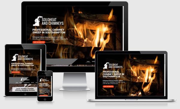 Soloheat & Chimneys in Southampton Website