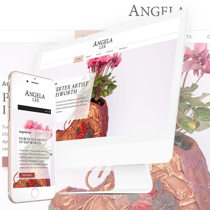 Angela Lee Powertex Artist in Emsworth