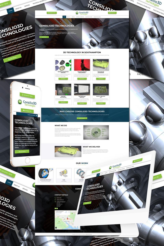 Consilio3d Technologies Southampton Website