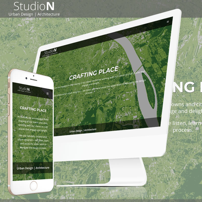 StudioN Create Website