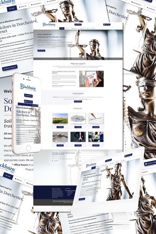 Blackburn & Co. Solicitors Dorchester Website